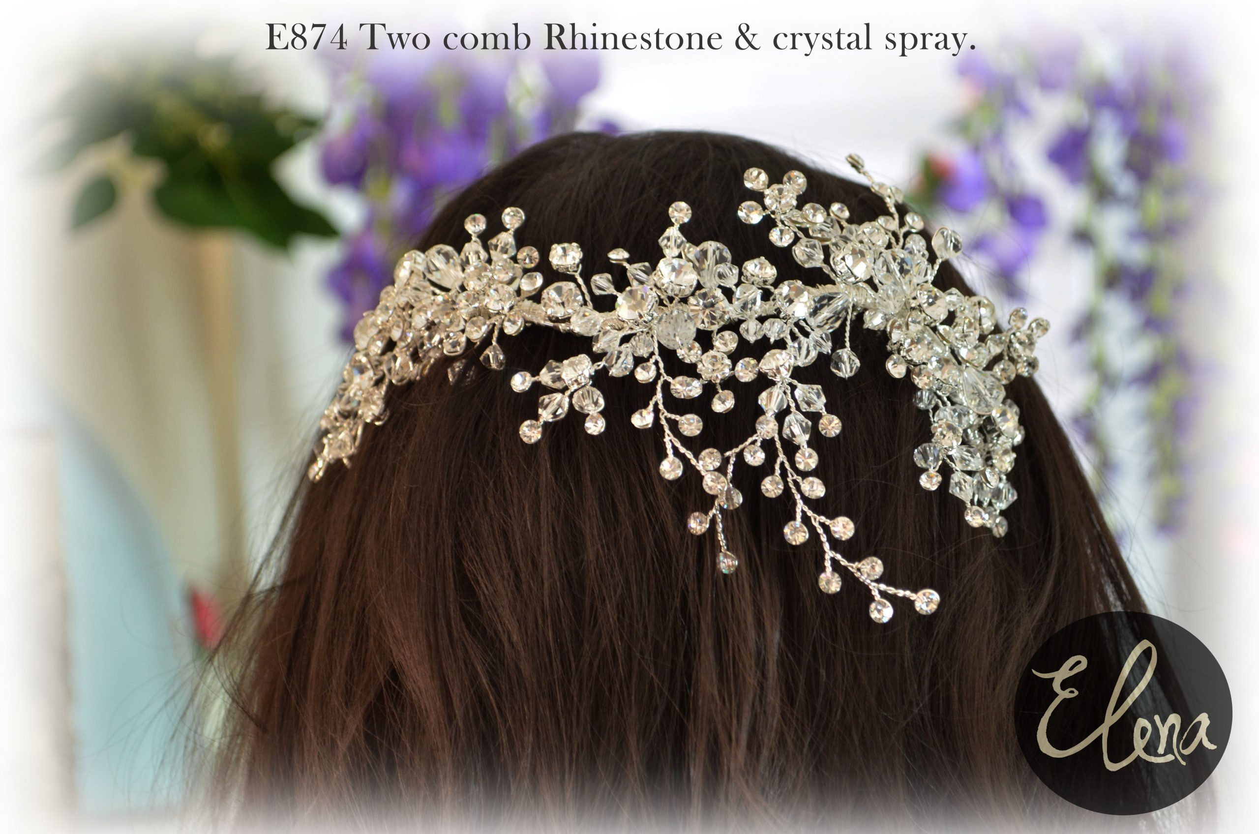 Elena E874 headpiece.