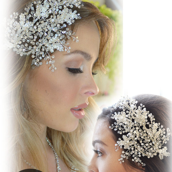 E875 Rhinestone crystal headpiece