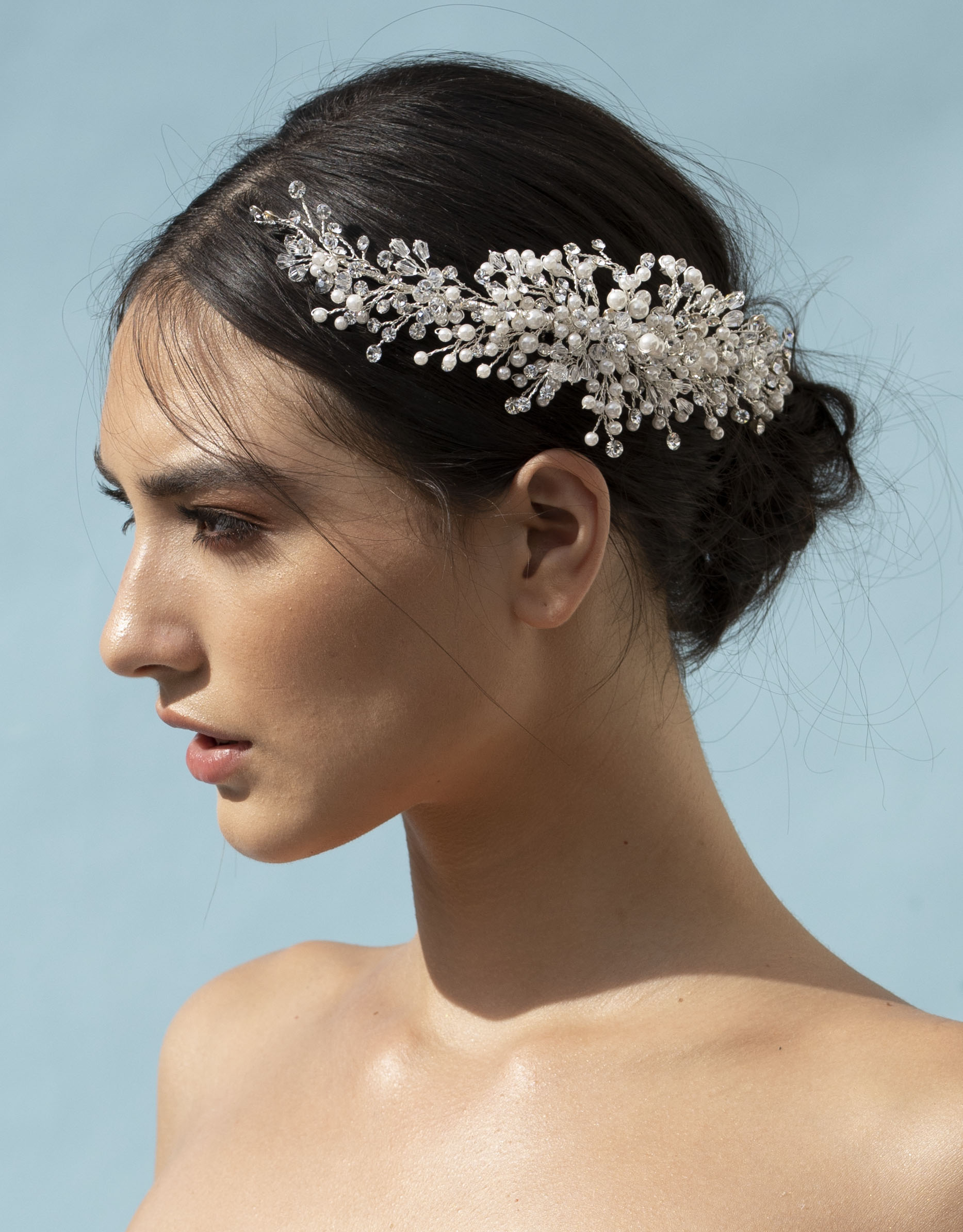 Elena  E963 headpiece.